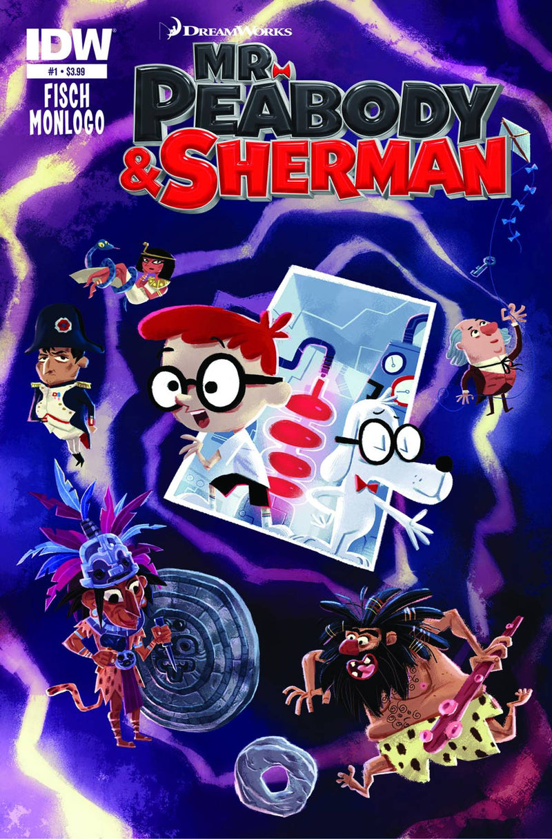 MR. PEABODY & SHERMAN #1 (OF 4)