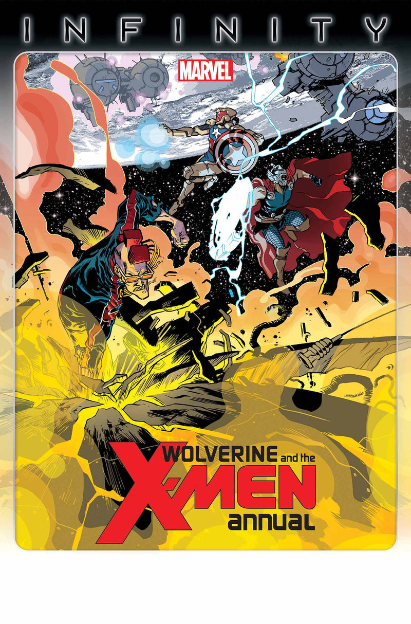 WOLVERINE & THE X-MEN ANNUAL #1