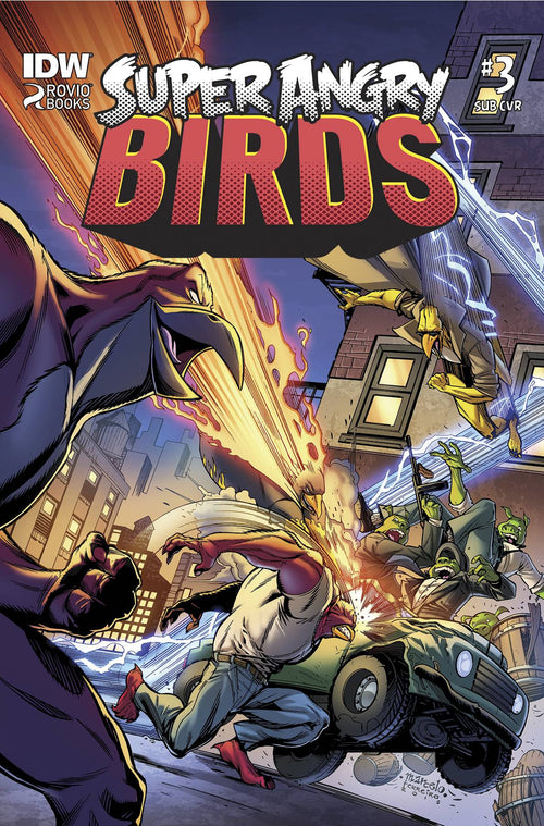Angry Birds: Super Angry Birds # 3 (of 4)