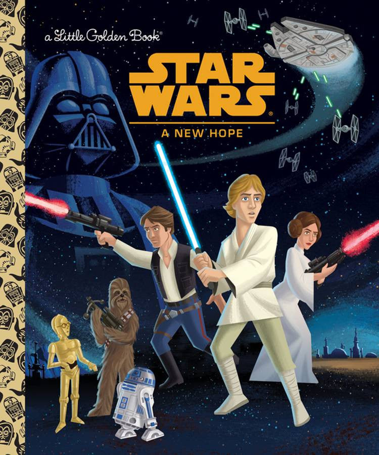 STAR WARS LITTLE GOLDEN BOOK NEW HOPE