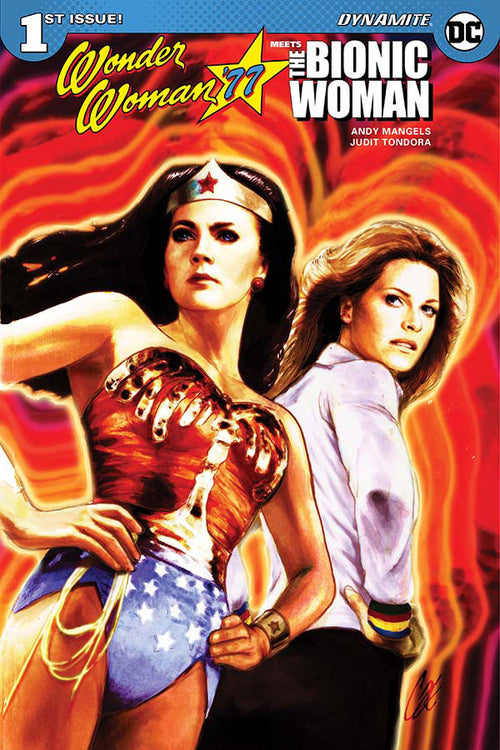 WONDER WOMAN 77 * BIONIC WOMAN #1