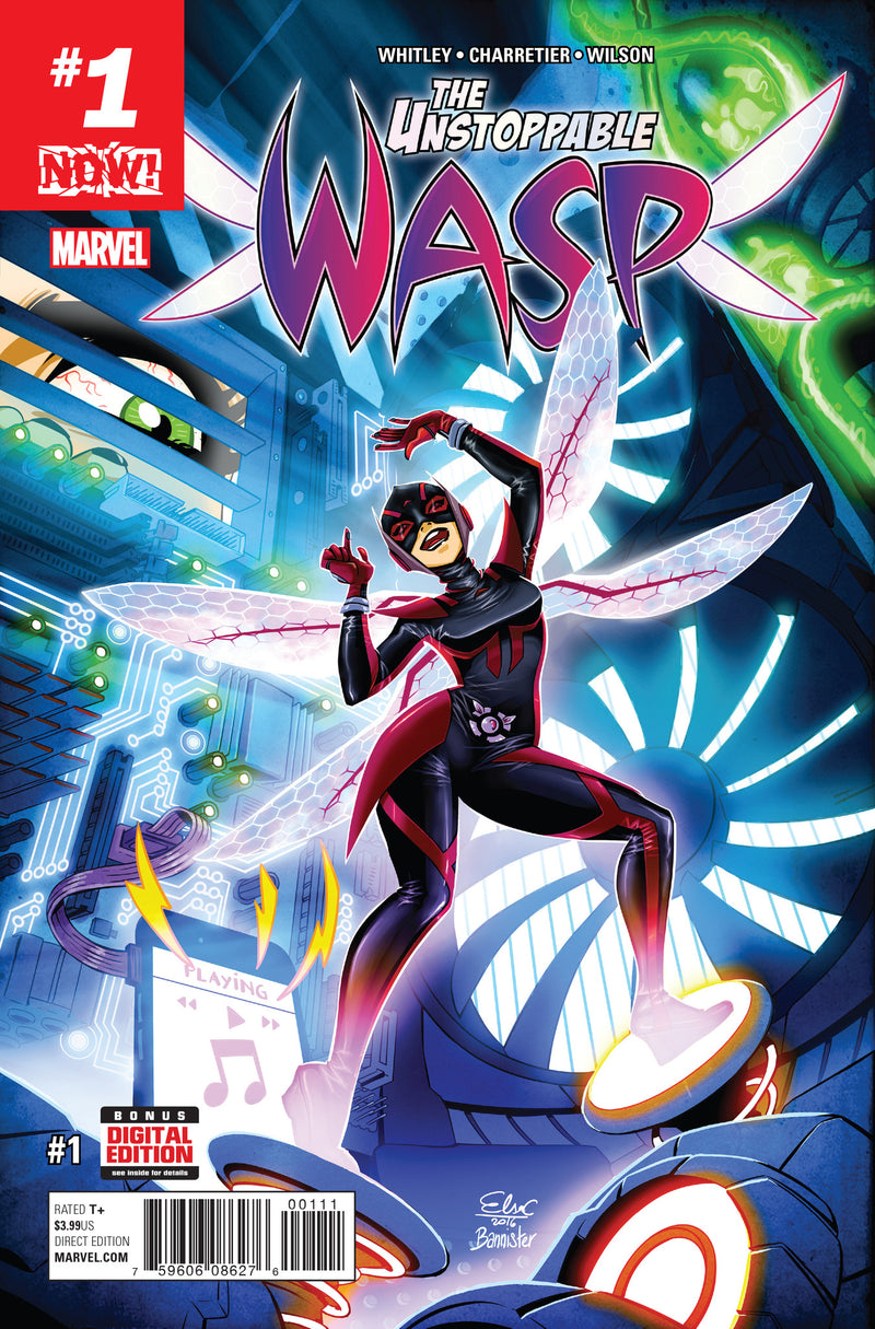 UNSTOPPABLE WASP #1  NOW!