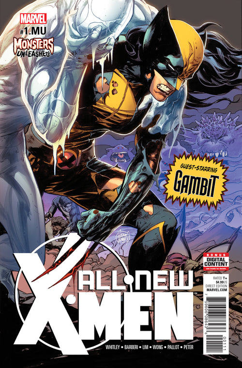 ALL NEW X-MEN #1.MU