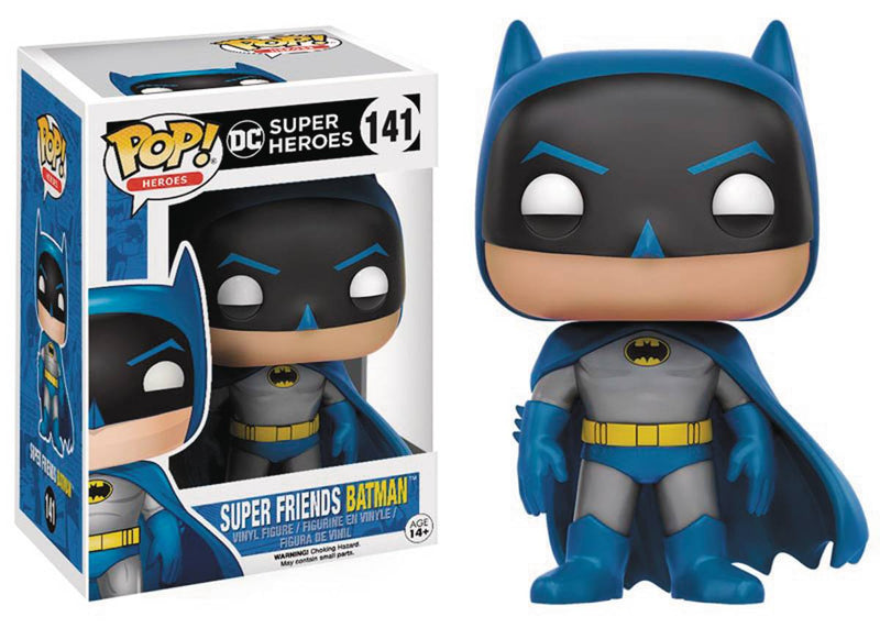 POP DC HEROES SUPERFRIENDS BATMAN VINYL FIG