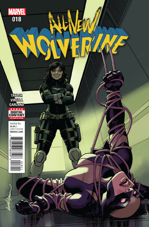 ALL NEW WOLVERINE #18