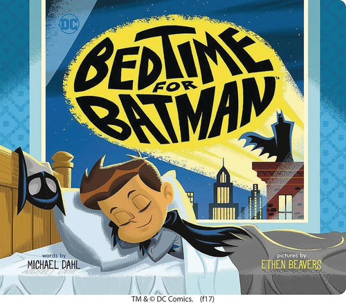 BEDTIME FOR BATMAN YR BOARD BOOK