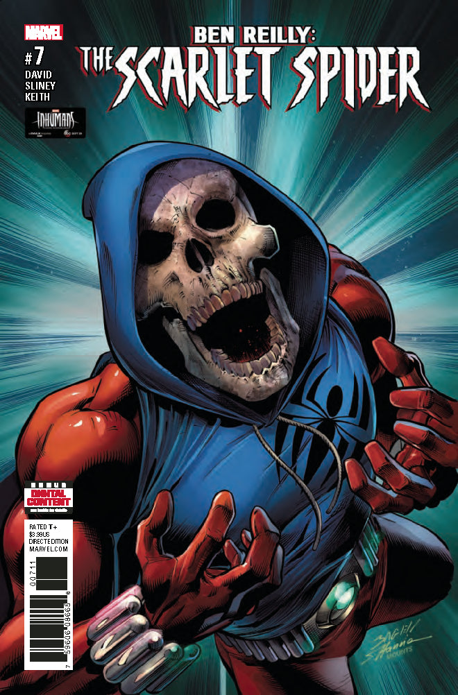 BEN REILLY SCARLET SPIDER #7