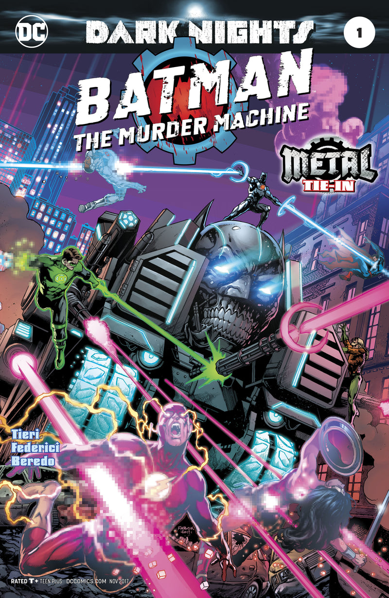 BATMAN THE MURDER MACHINE #1