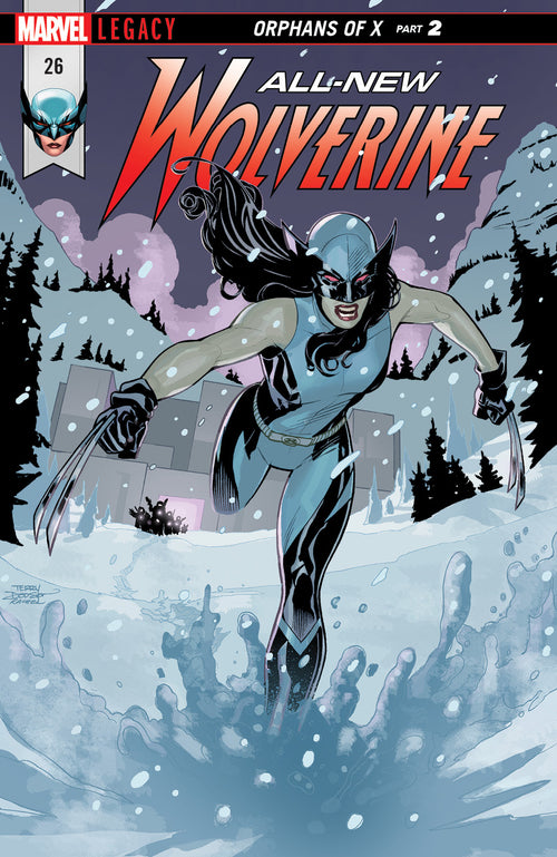 ALL NEW WOLVERINE #26  LEG