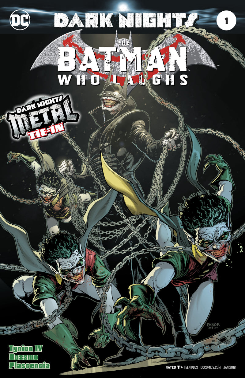 BATMAN WHO LAUGHS #1  METAL