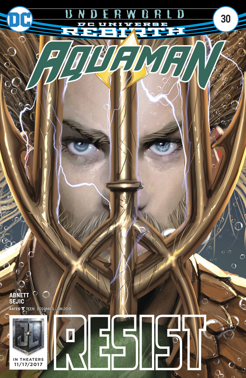 AQUAMAN #30 REBIRTH