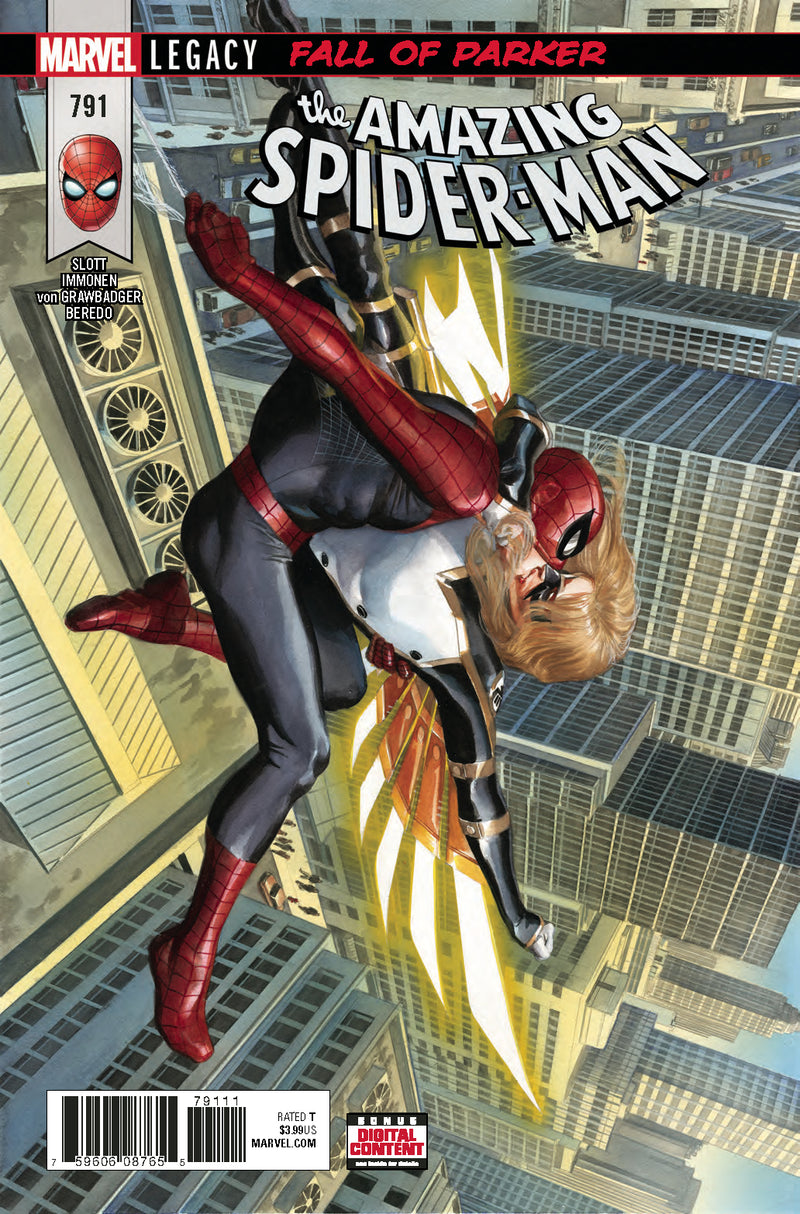 AMAZING SPIDER-MAN #791 LEG