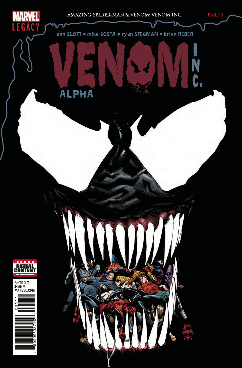 AMAZING SPIDER-MAN VENOM  INC. ALPHA #1