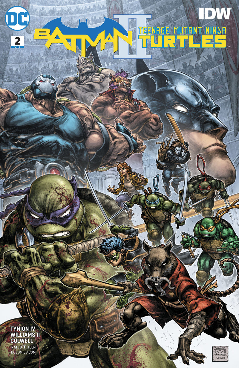BATMAN TEENAGE MUTANT NINJA TURTLES II #2