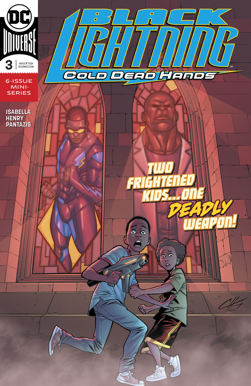 BLACK LIGHTNING COLD DEAD HANDS #3
