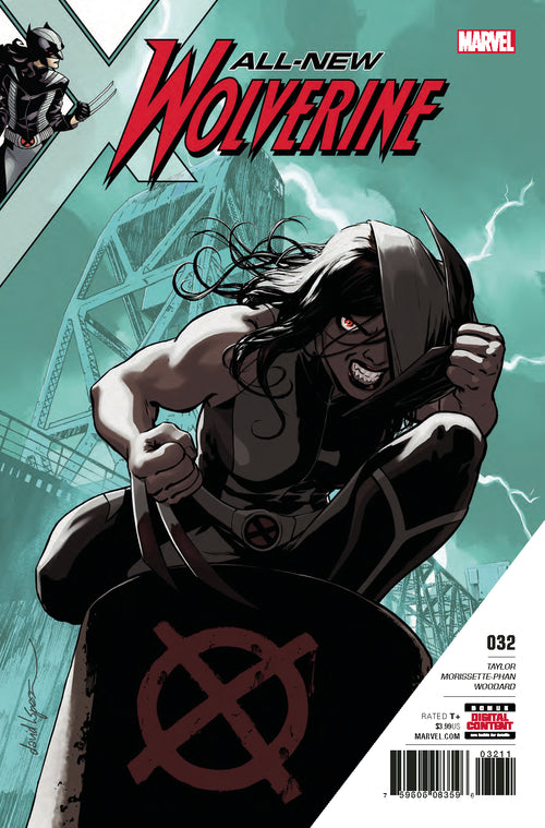 ALL NEW WOLVERINE #32 LEG