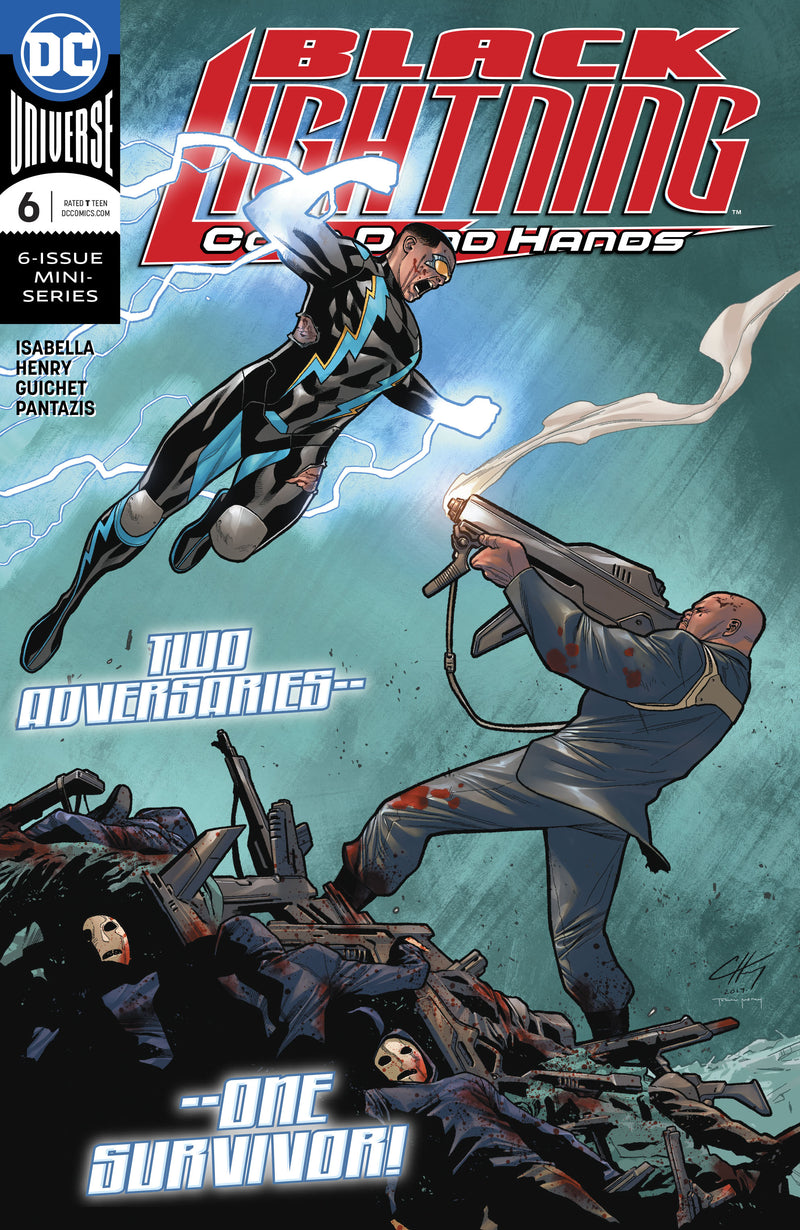 BLACK LIGHTNING COLD DEAD HANDS #6