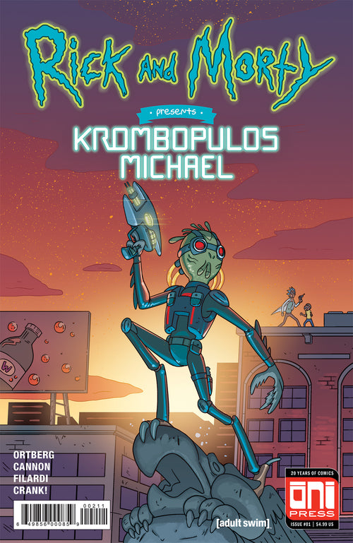 RICK & MORTY PRESENTS KROMBOPULOUS MICHAEL #1