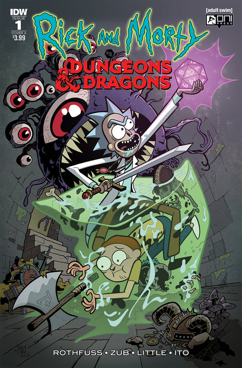 RICK & MORTY VS DUNGEONS & DRAGONS #1 (OF 4)