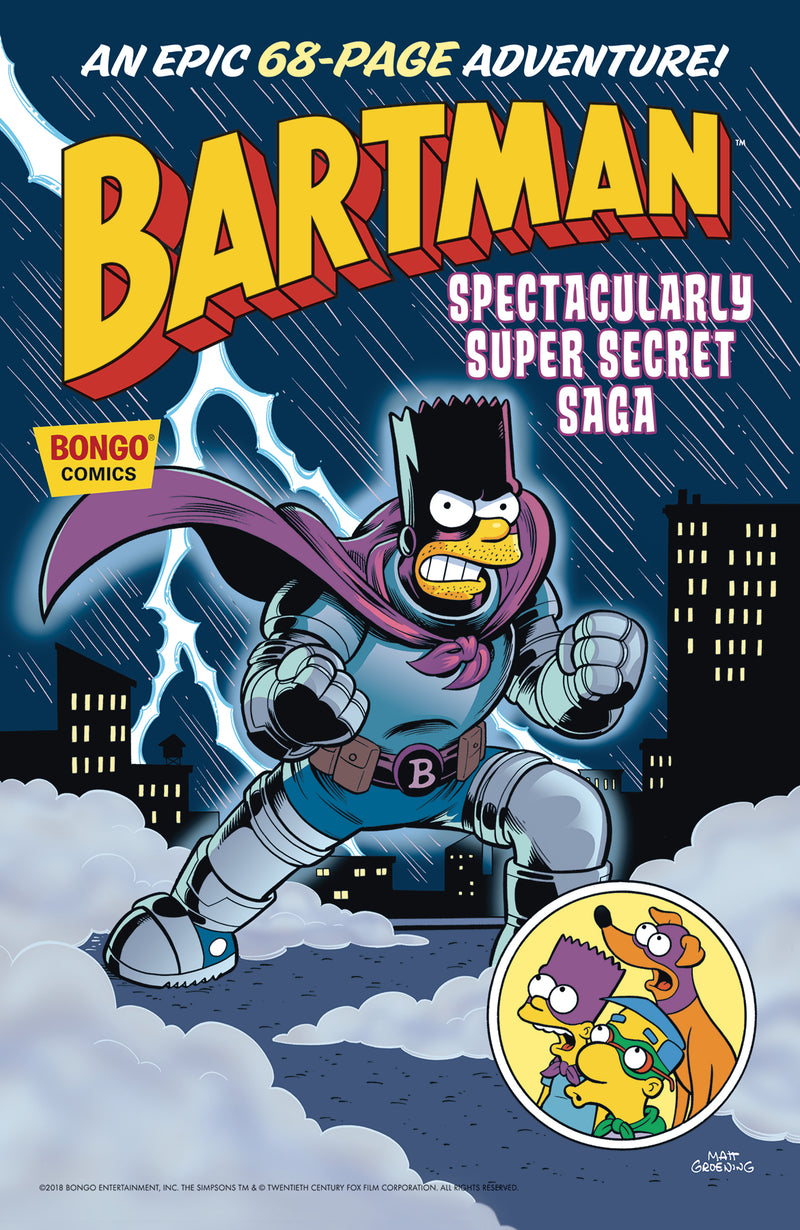 BARTMAN`S SPECTACULARY SUPER SECRET SAGA