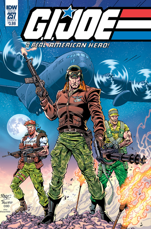 GI JOE A REAL AMERICAN HERO #257