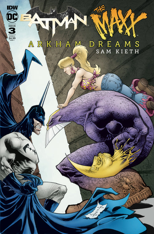 BATMAN THE MAXX ARKHAM DREAMS #3 (OF 5)