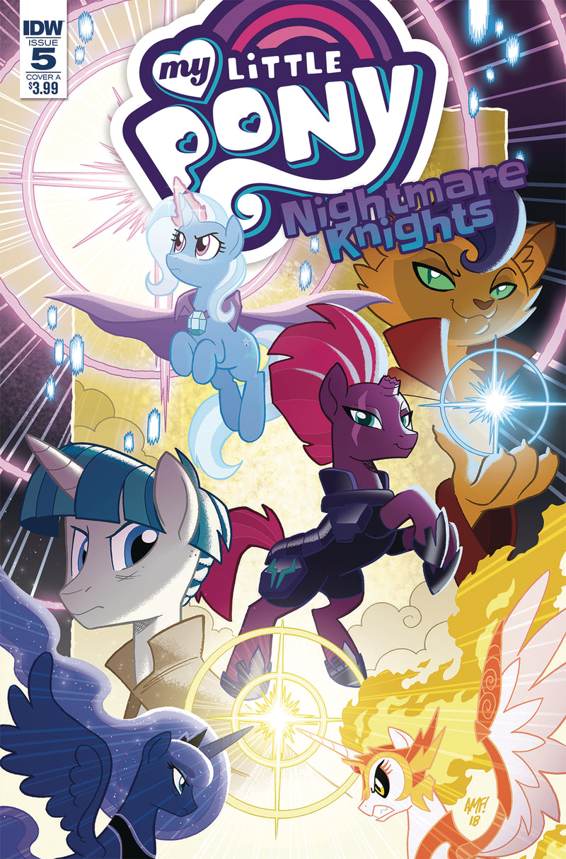 MY LITTLE PONY NIGHTMARE KNIGHTS #5