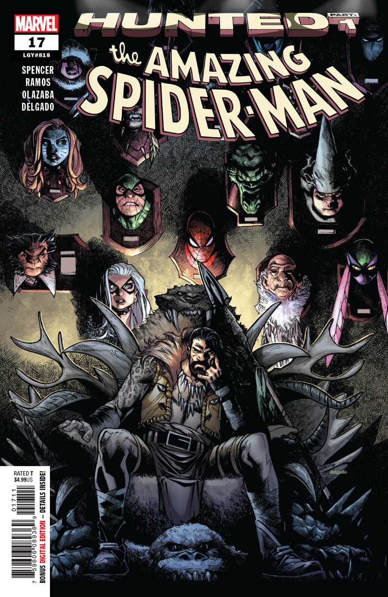 AMAZING SPIDER-MAN #17  (HUNTED)