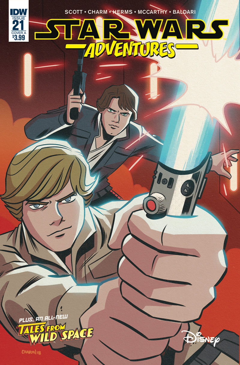 STAR WARS ADVENTURES #21