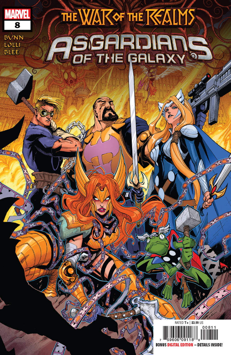 ASGARDIANS OF THE GALAXY #8 WOR