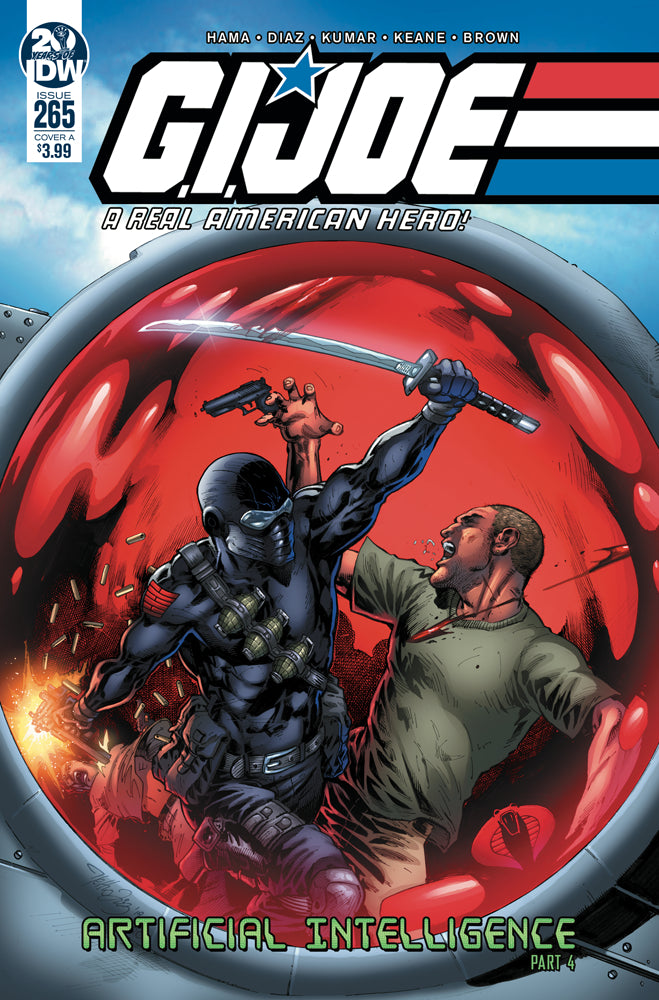 GI JOE A REAL AMERICAN HERO #265