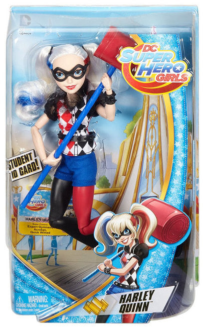 DC Comics DC Super Hero Girls Harley Quinn 12-Inch Deluxe Doll