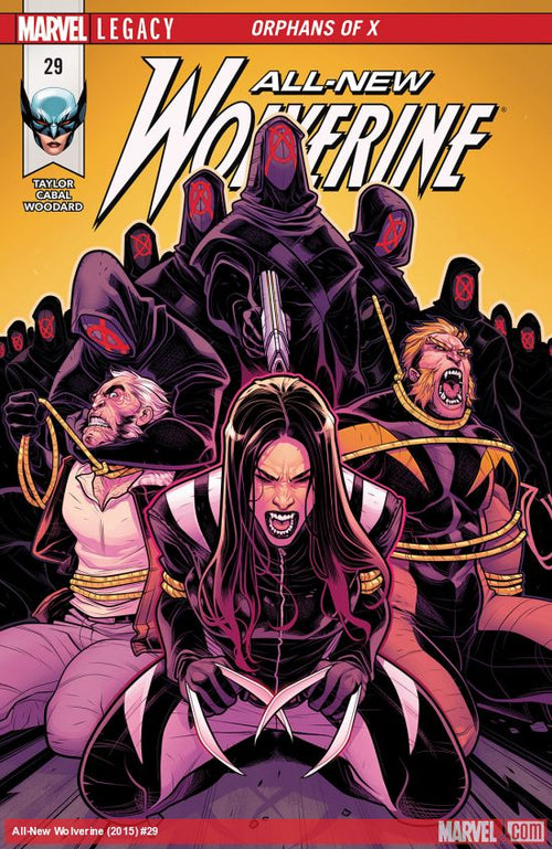 ALL NEW WOLVERINE #29 LEG