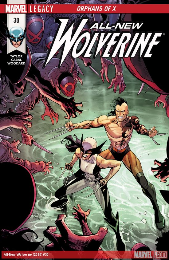 ALL NEW WOLVERINE #30 LEG