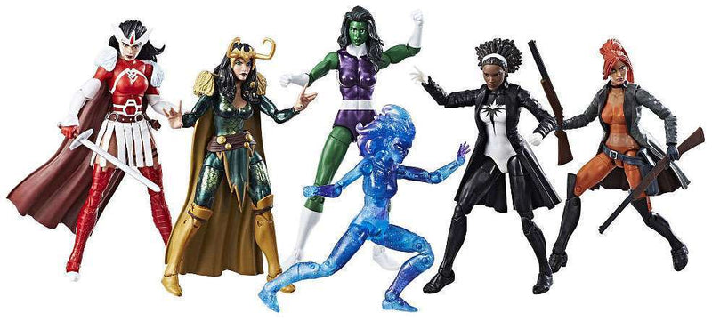 Marvel Legends A-Force  Exclusive Action Figure 6-Pack