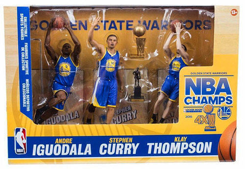 NBA McFarlane 3 Pack  2015 GOLDEN STATE WARRIORS