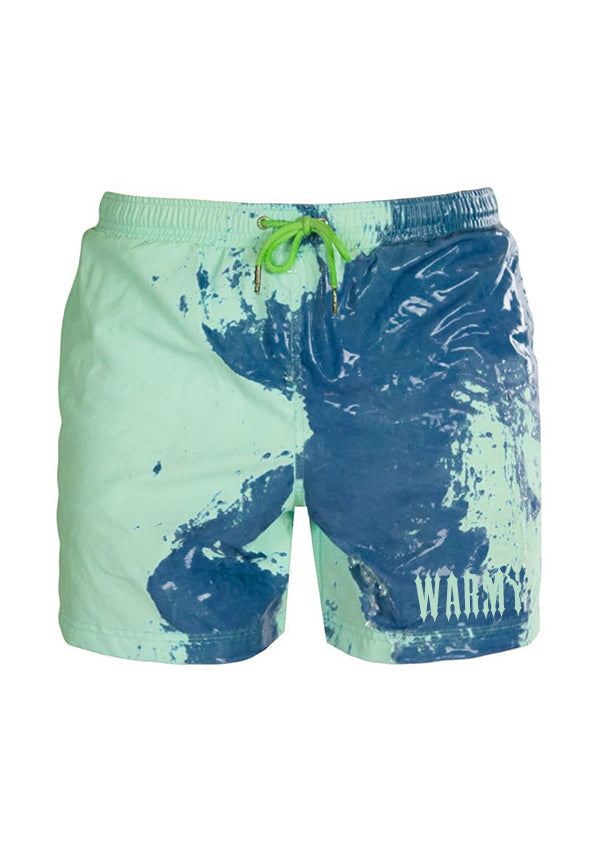 WMY COLOR CHANGING SWIM | GREEN-DARK BLUE