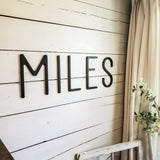 Wooden Name Sign For Nursery
