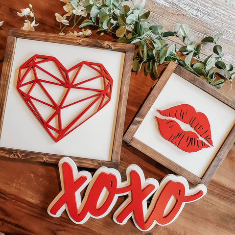 rustic valentines day decor