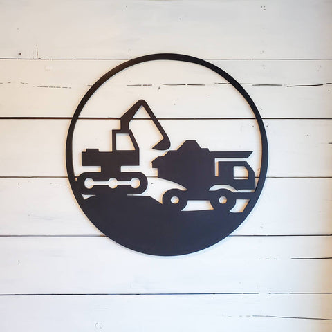 Construction Themed Wall Decor