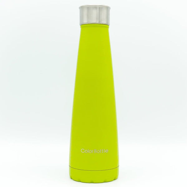 bouteille isotherme inox 500ml design vert colorbottle