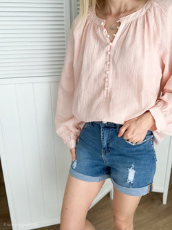 Little Lies Seville Top in Blush