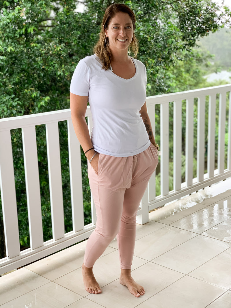 Luisa Lounge Pants - Blush