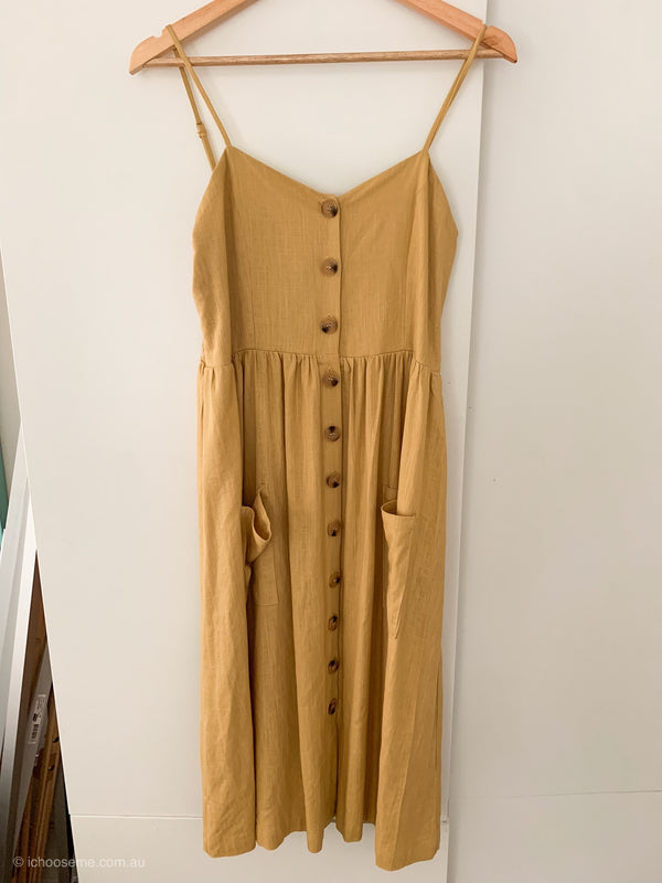 Ella Sundress in Mustard