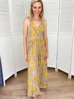 Harper Maxi in Yellow