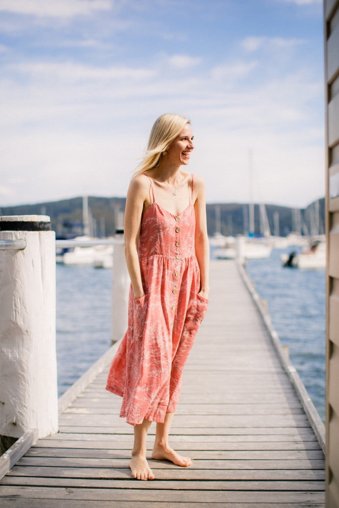Ella Sundress in Pink