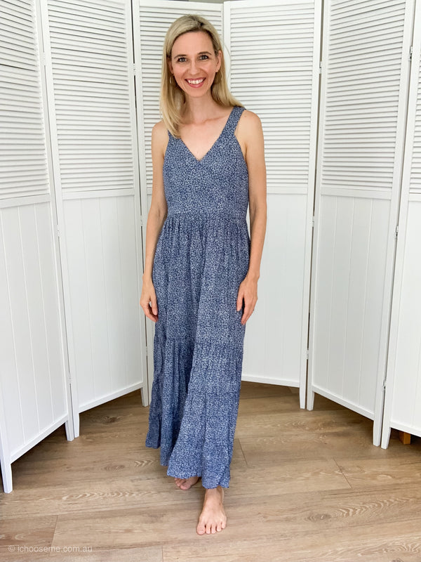 Harper Maxi in Blue