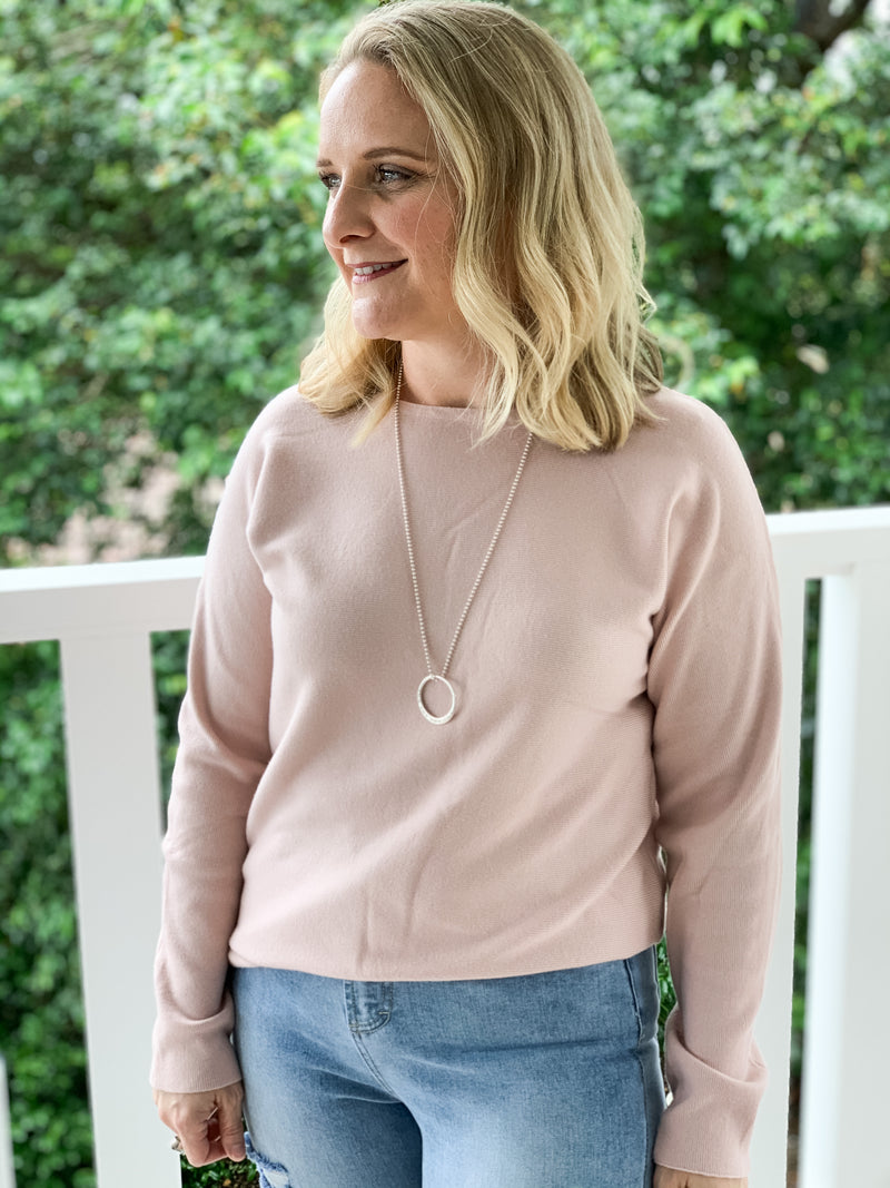 Amelia Essential Knit in Pink