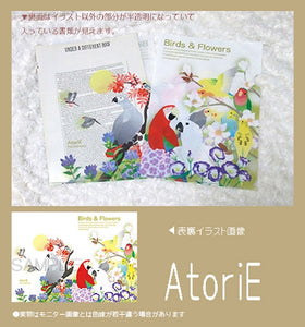 A4 クリアファイル Birds & Flowers