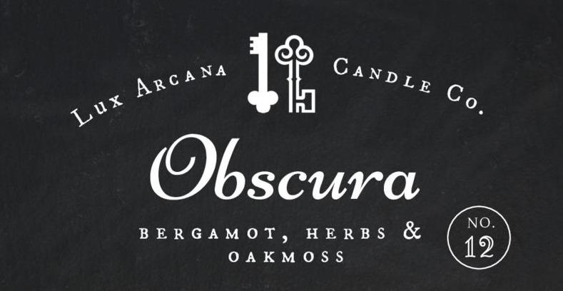 Obscura No.12 - Lux Arcana Candle Co.